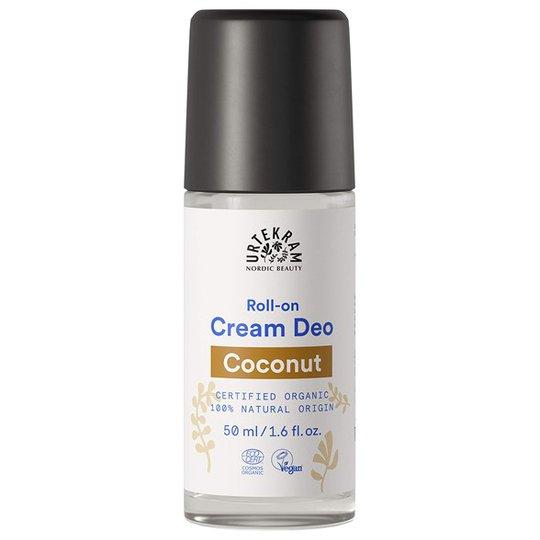 Urtekram Nordic Beauty Coconut Cream Deo Roll-on, 50 ml