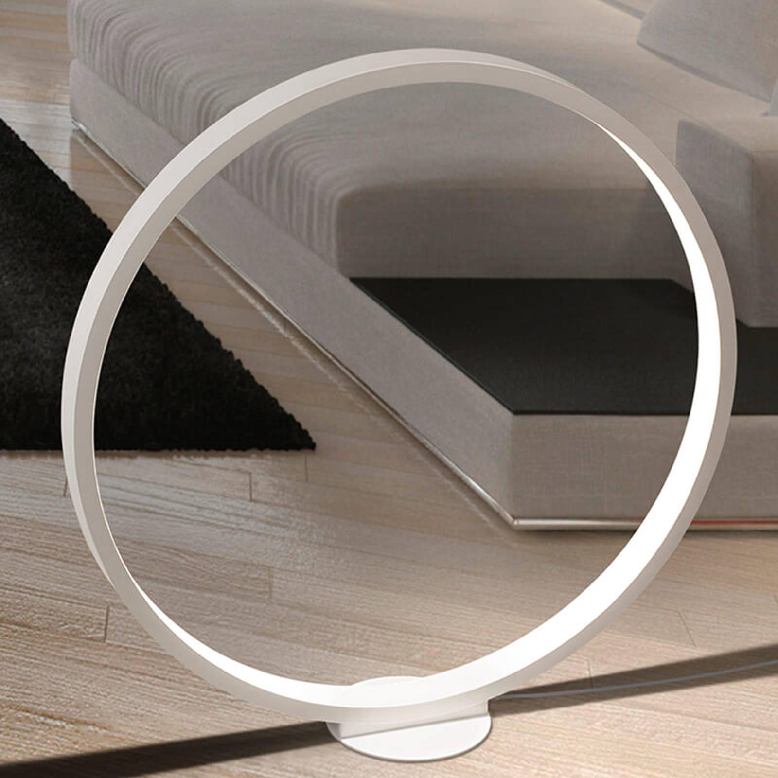 Cini&Nils Assolo valkoinen LED-lattiavalaisin himm