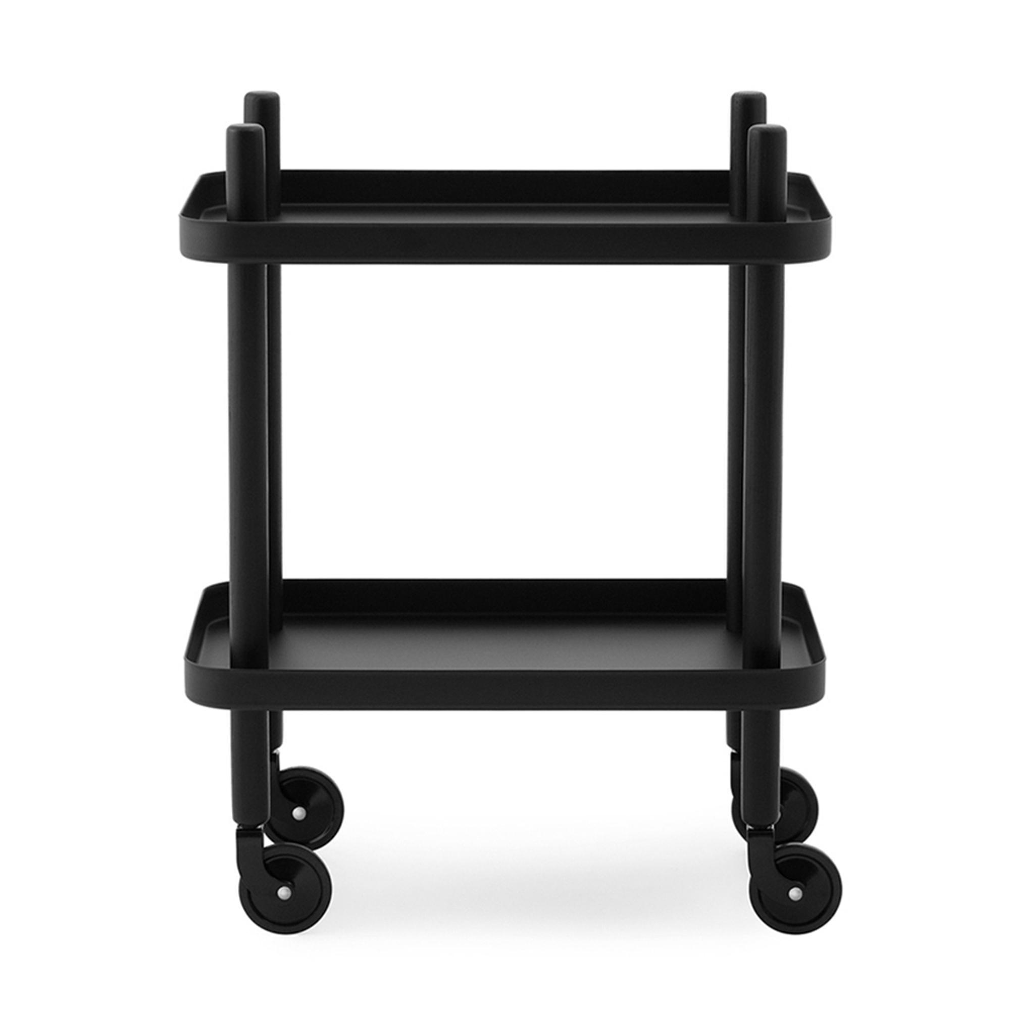 Normann Copenhagen Serveringsvagn Block svart/svart