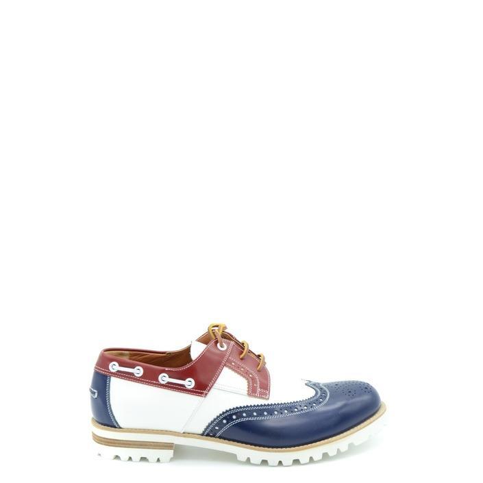 Dsquared Men's Slip On Shoe Multicolor 164989 - blue 40