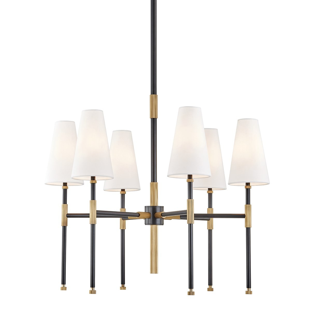 Hudson Valley | Bowery Chandelier | Aged Old Bronze