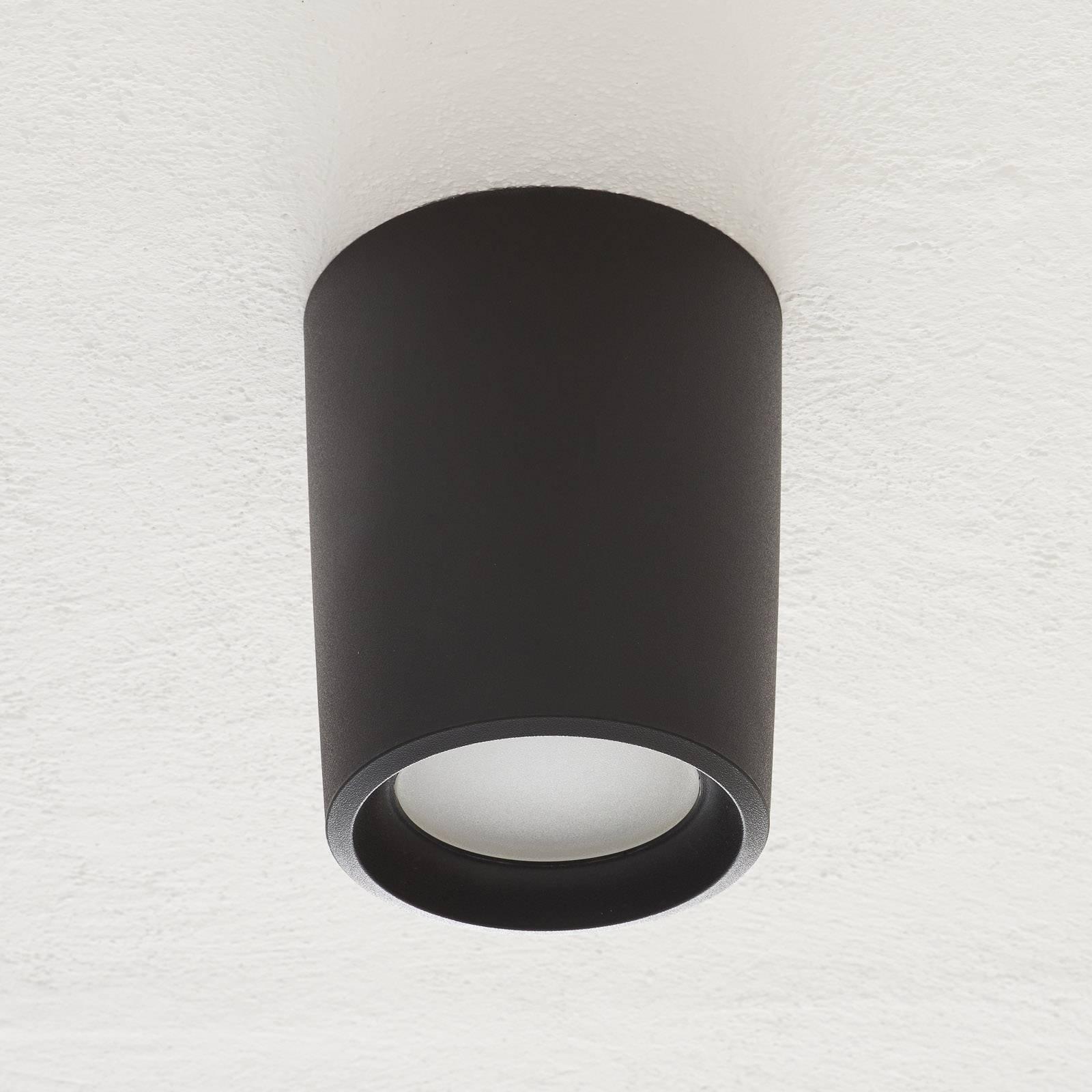 Downlight Livia Ø18cm 3 000 K svart/frost