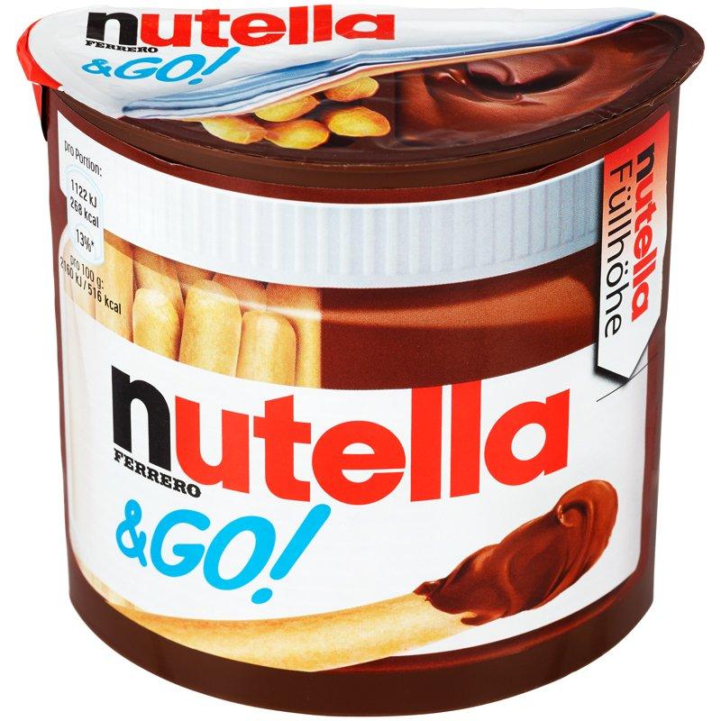 Nutella & GO - 43% rabatt