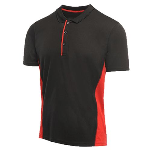 Regatta Men's Salt Lake Polo Shirt Various Colours L_TRS160 - Black S