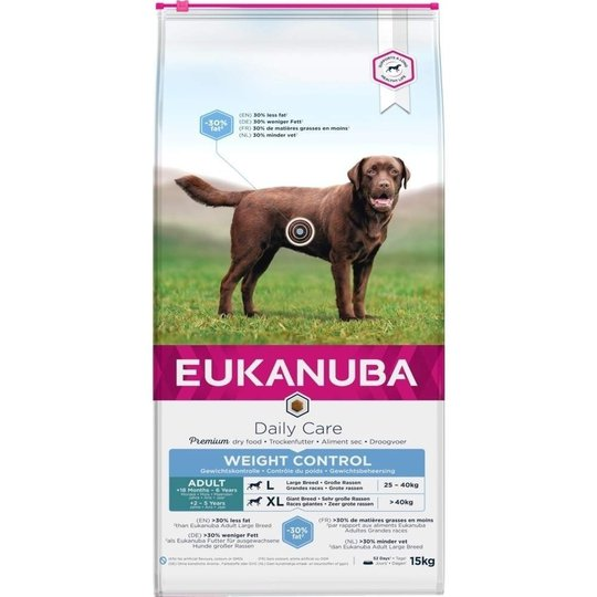 Eukanuba Daily Care Adult Weight Control Large Breed (15 kg)