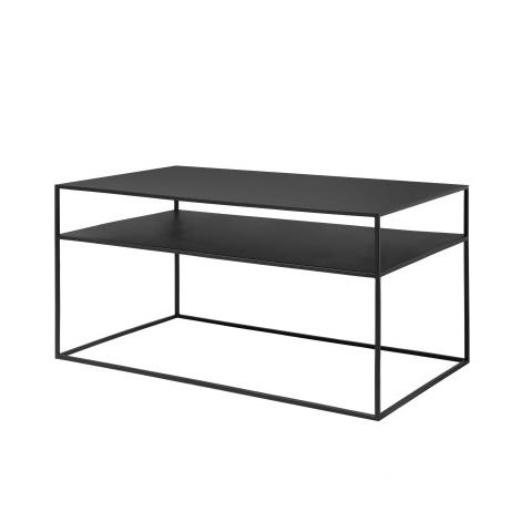 Soffbord svart metall Fera Blomus