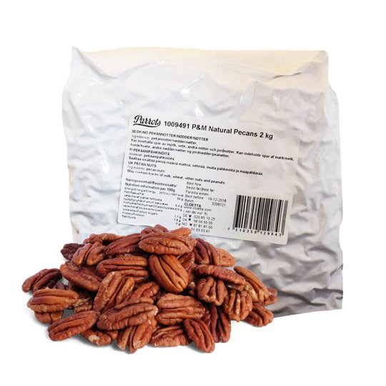 Pekannötter 2kg - 50% rabatt