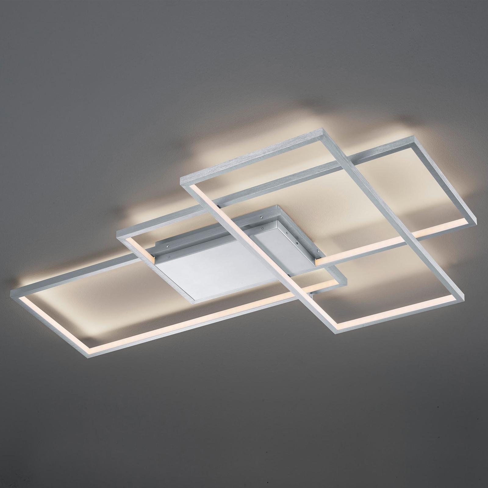 Trio WiZ Thiago LED-kattovalaisin 114 cm, nikkeli