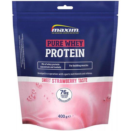 """Proteinpulver """"Pure Whey"""" Jordgubb 400g - 41% rabatt"""