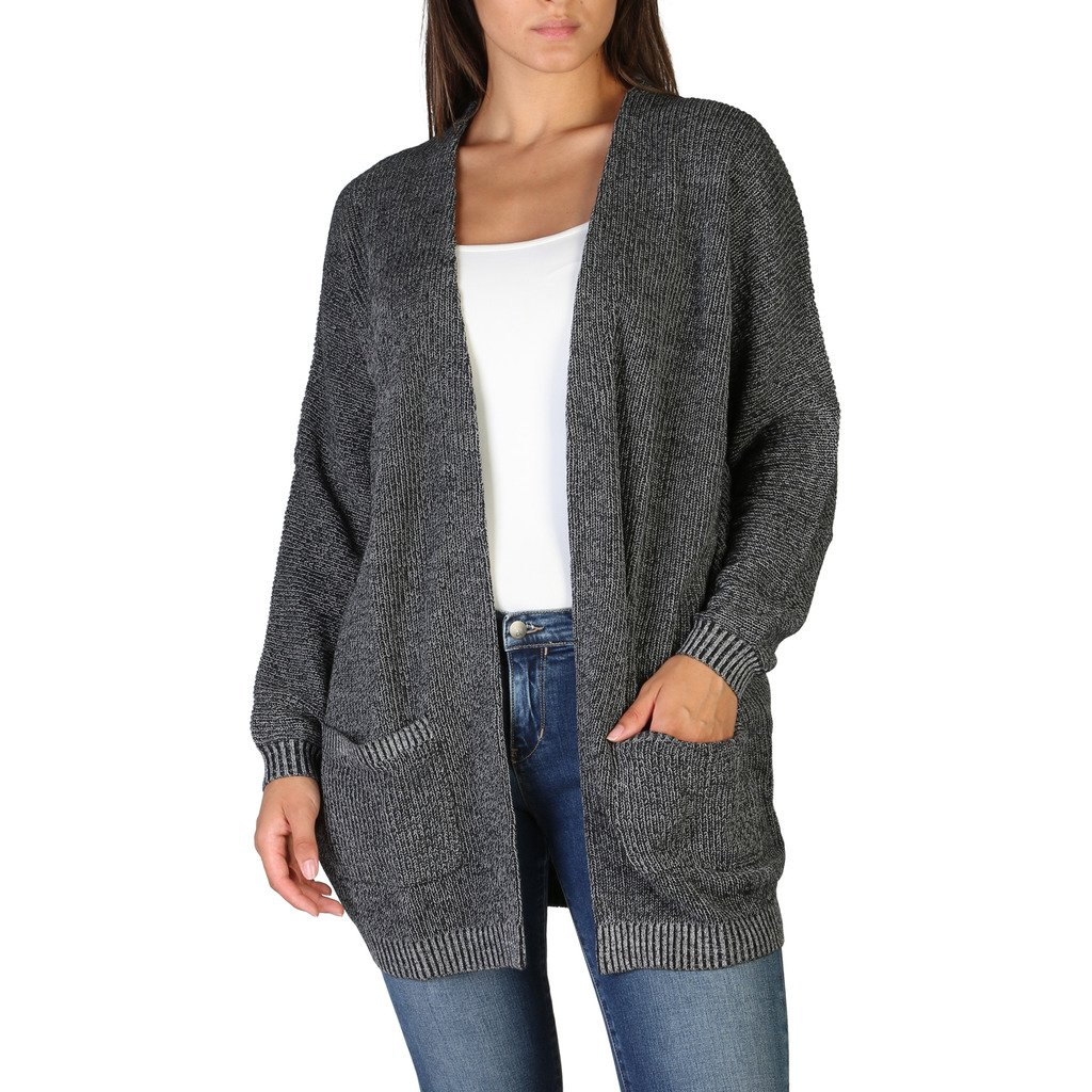 Calvin Klein Women's Sweater Black J20J206011 - black L