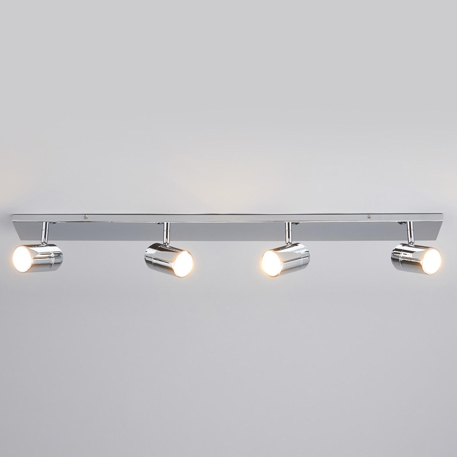 Dejan - 4-lamppuinen kylpyhuonevalaisin kattoon