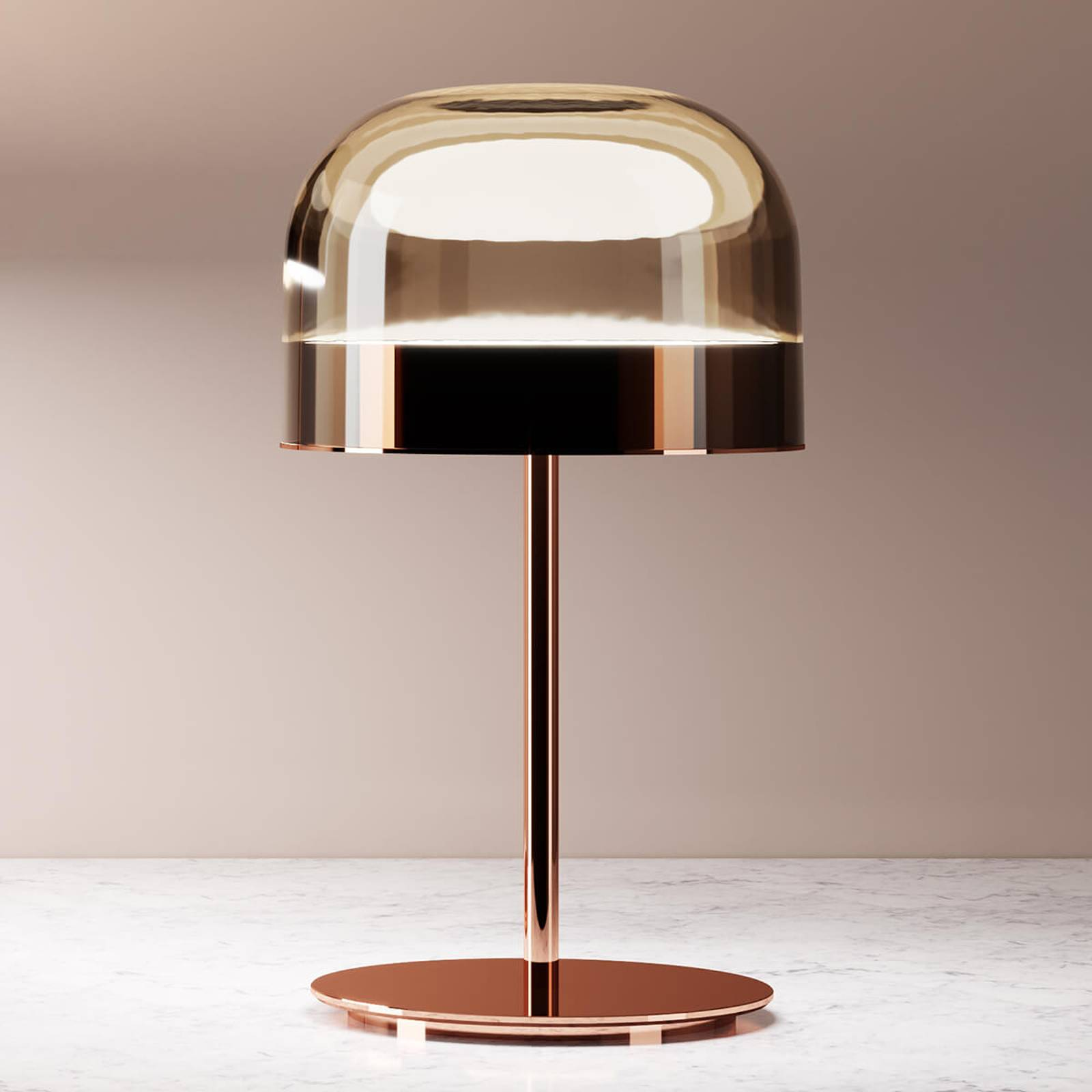 Fontana Arte Equatore -LED-pöytälamppu, 42,5 cm