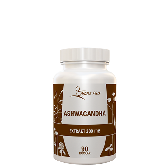 Ashwagandha 300 mg, 90 kapslar
