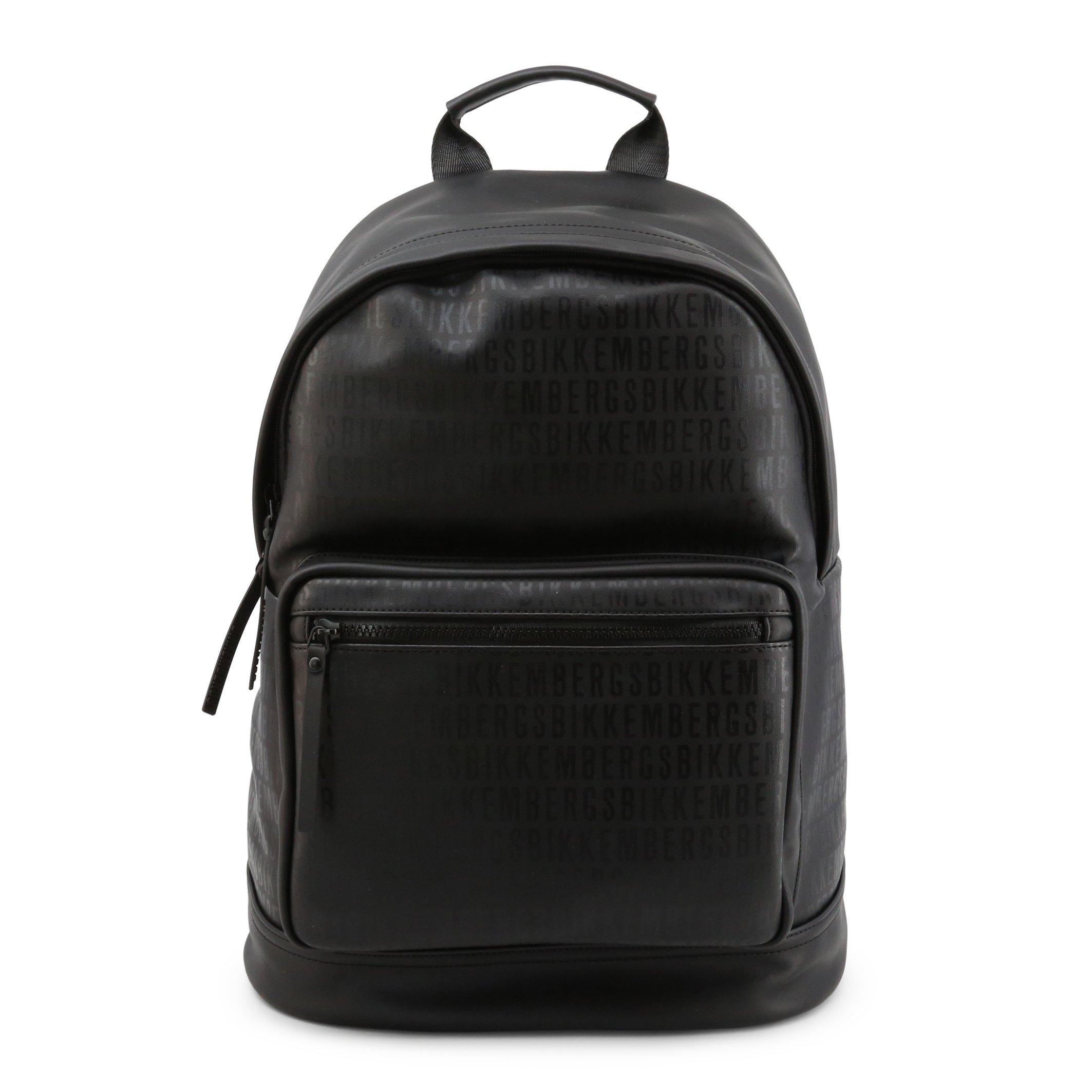 Bikkembergs Men's Backpack Black E2APME810075 - black-1 NOSIZE