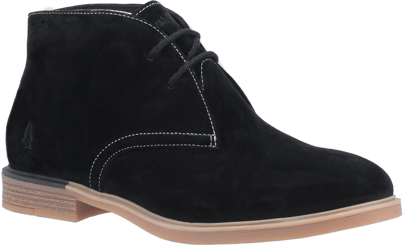 Hush Puppies Women's Bailey Bounce Chukka Boot Various Colours 29215 - Black Suede 3