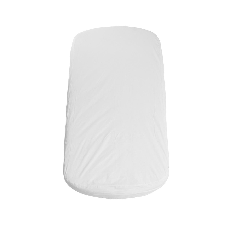 Oval madrass spjälsäng, Flexa