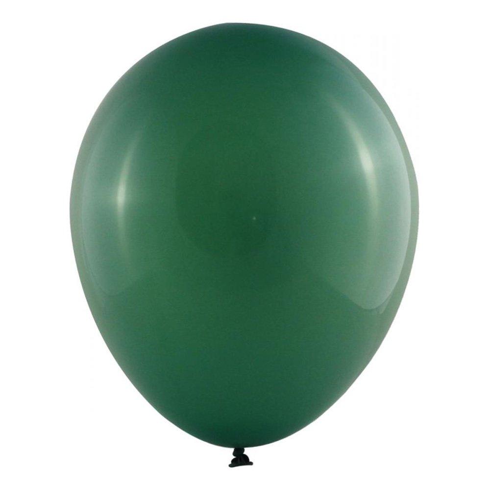 Latexballonger Professional Mörkgrön - 100-pack
