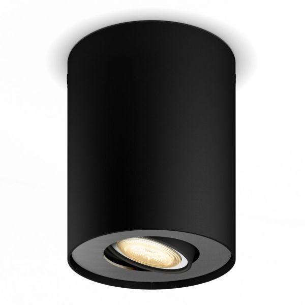 Philips Hue Pillar Kohdevalaisin 5W LED, GU10 Musta