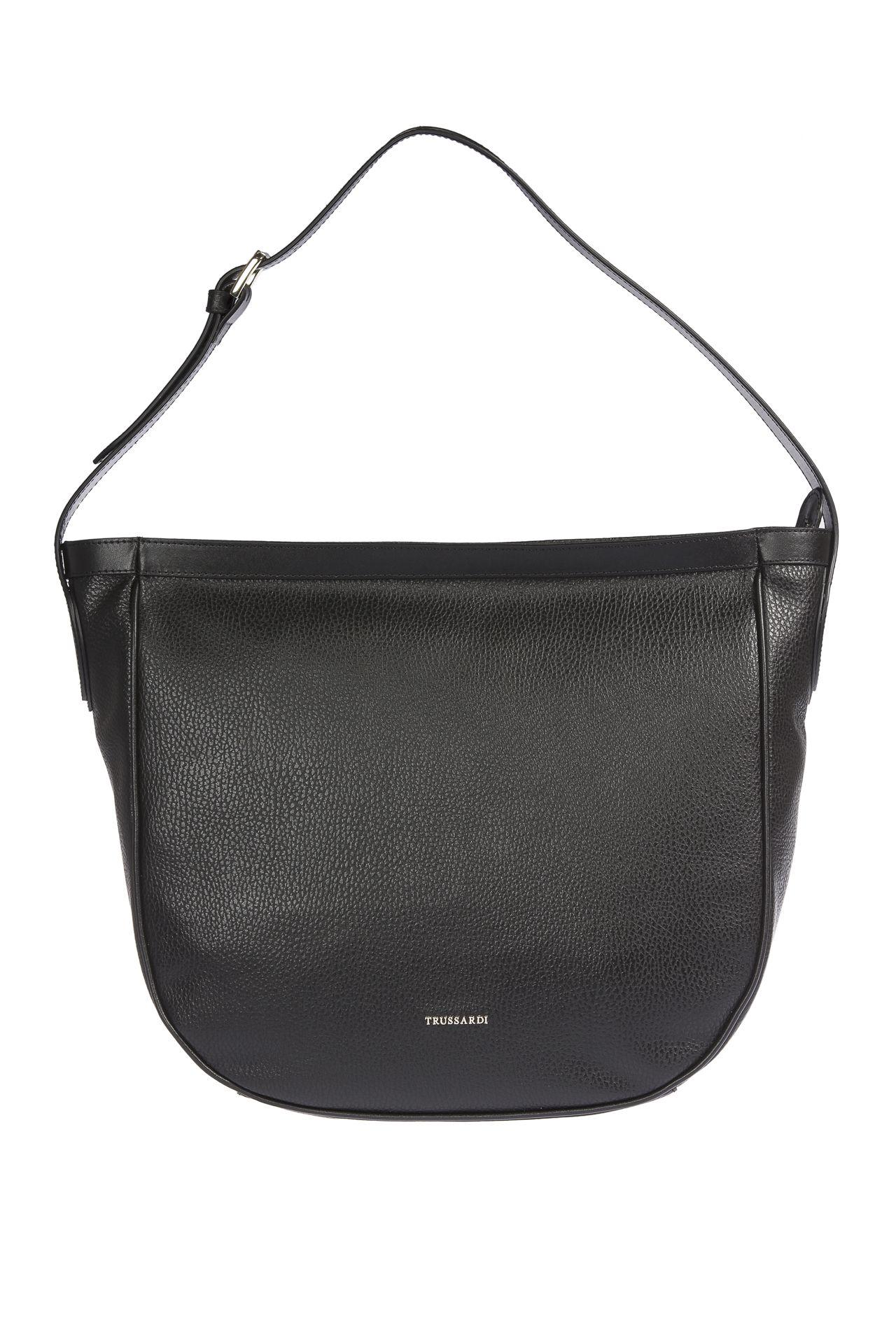 Trussardi Women's Shoulder Bag Black 1DB517_19Black
