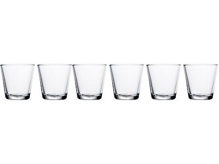 Kartio Glass Klar 21 cl 6 stk.