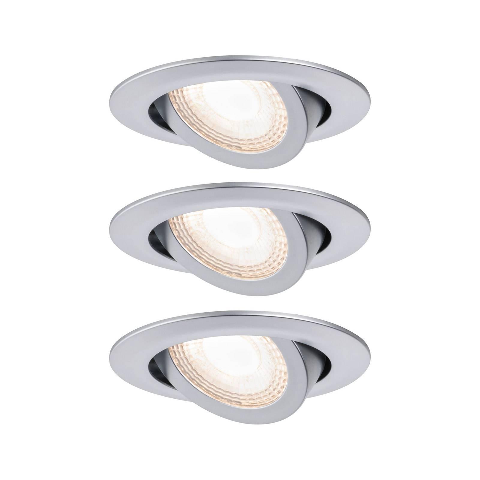 Paulmann-LED-uppovalo 93389, 3 x 6 W:n sarja
