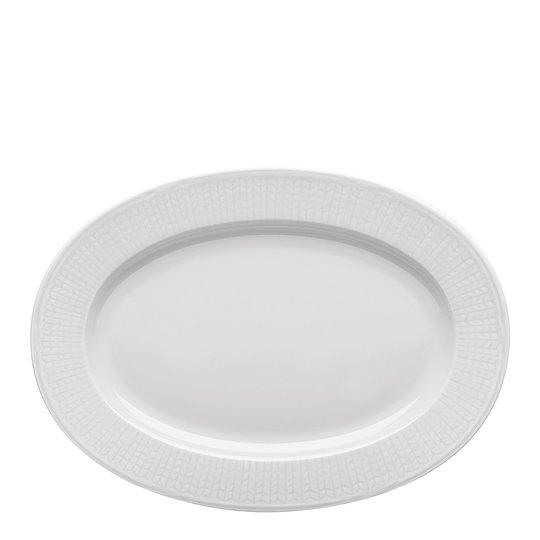 Rörstrand - Swedish Grace Fat oval 32 cm Snö
