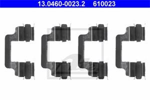 Tarvikesarja, jarrupala, Taka-akseli, AUDI,VW, 3D0 615 231