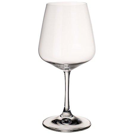 Ovid Red wine goblet Set 4pcs
