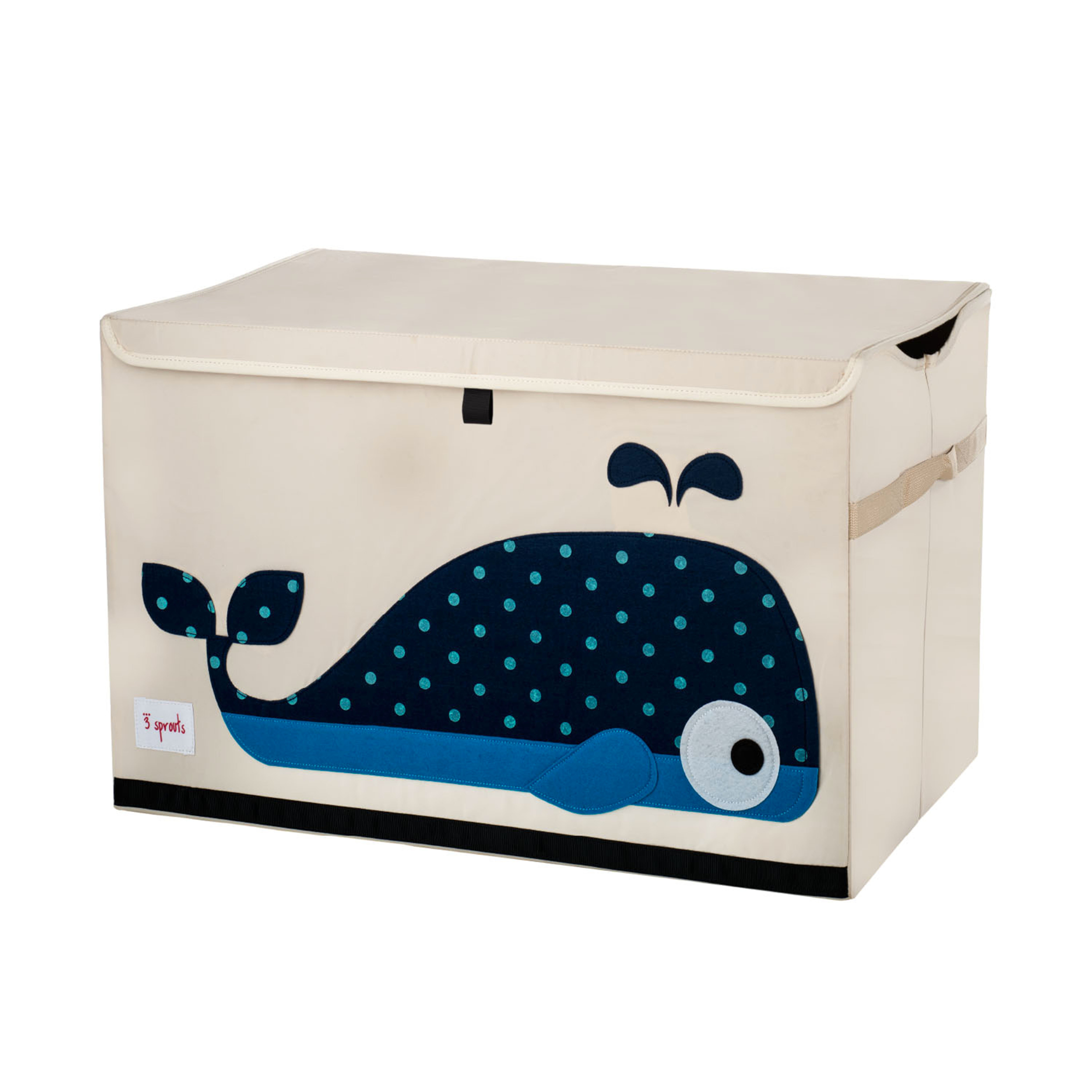 3 Sprouts - Toy Chest - Blue Whale