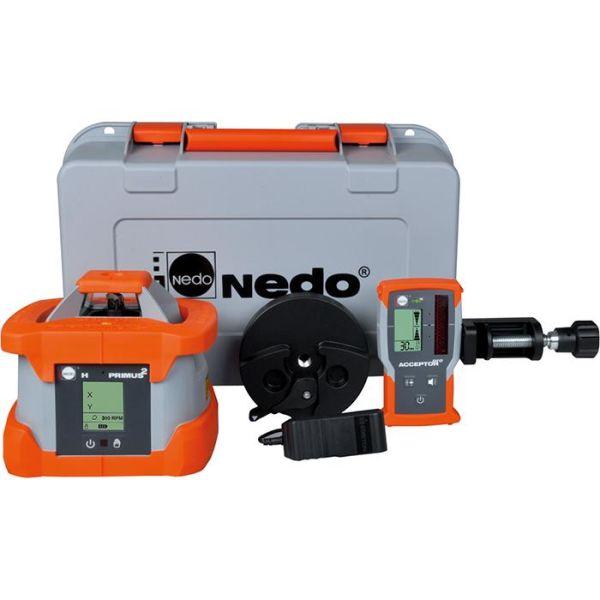 Nedo Primus2 H+ Pyörivä laser vastaanottimella