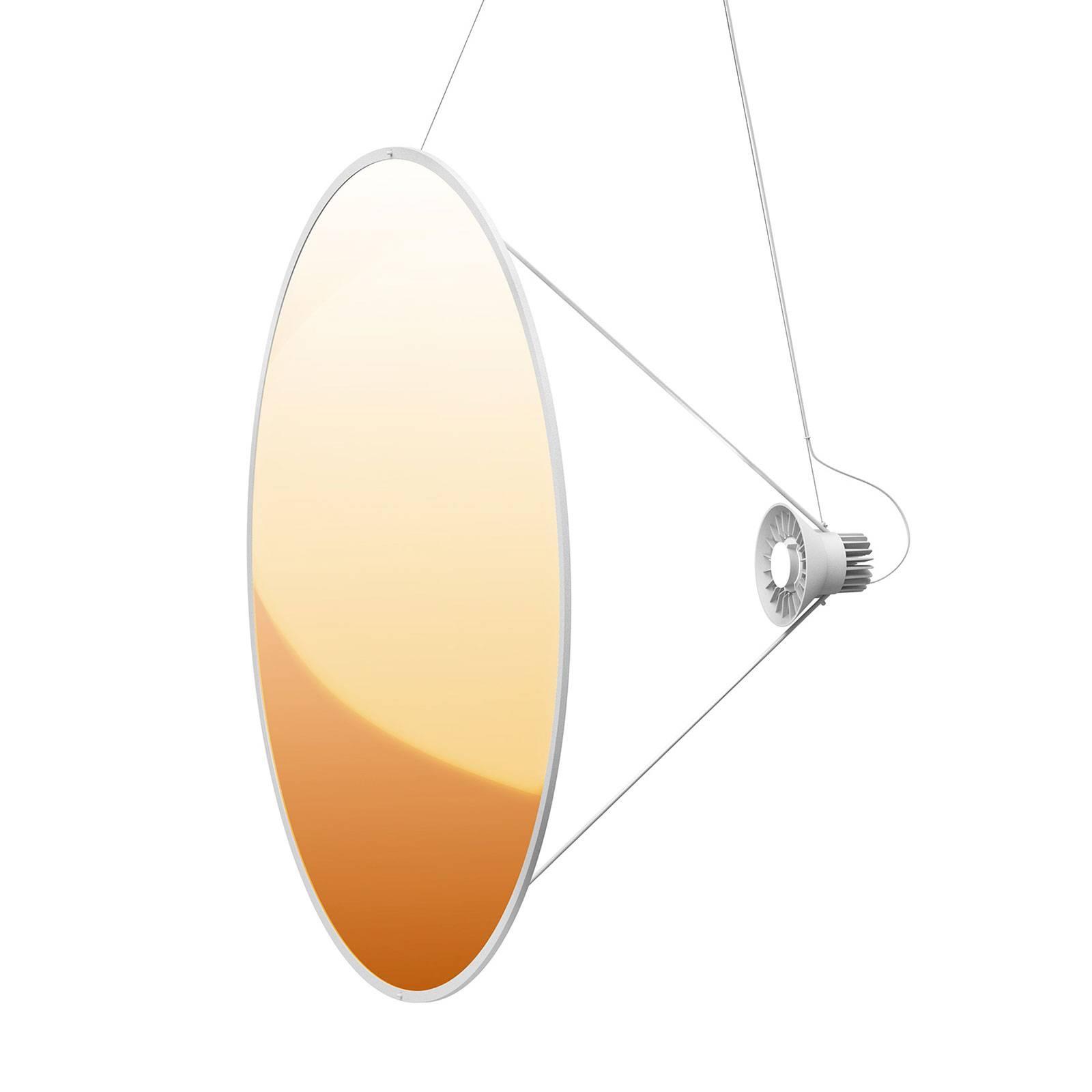 Luceplan Amisol -LED-riippuvalaisin Ø 110 cm kulta