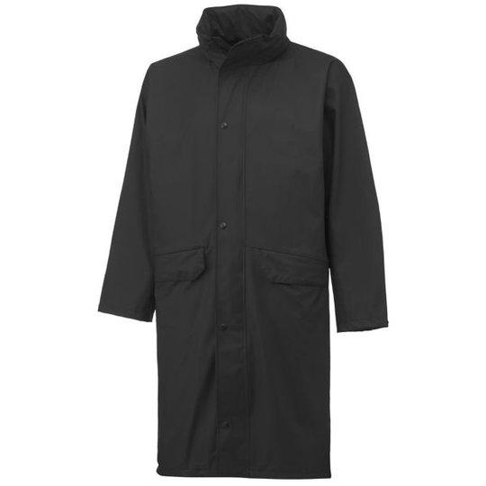 Helly Hansen Workwear Voss Sadetakki musta, pitkä malli XS