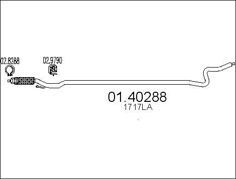 Pakoputki MTS 01.40288