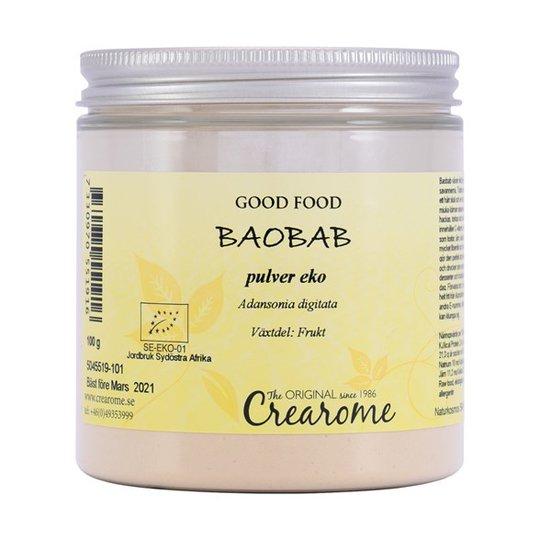 Crearome Ekologiskt Baobabpulver, 100 g