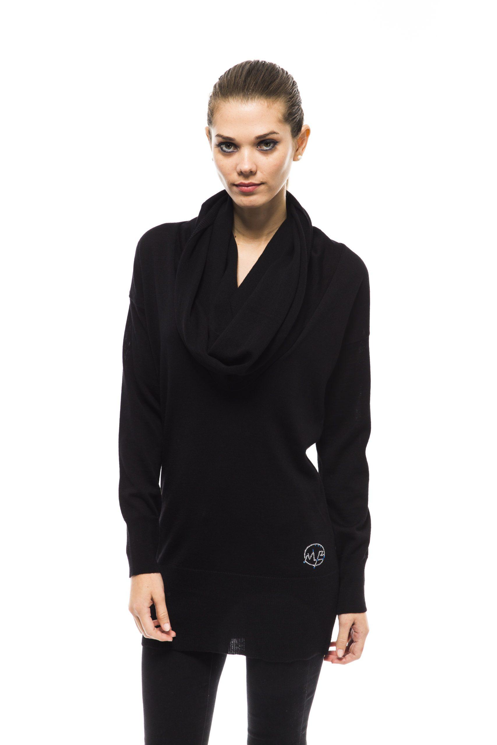 Montana Blu Women's Nero Sweater Black MO1191390 - IT40 | XS