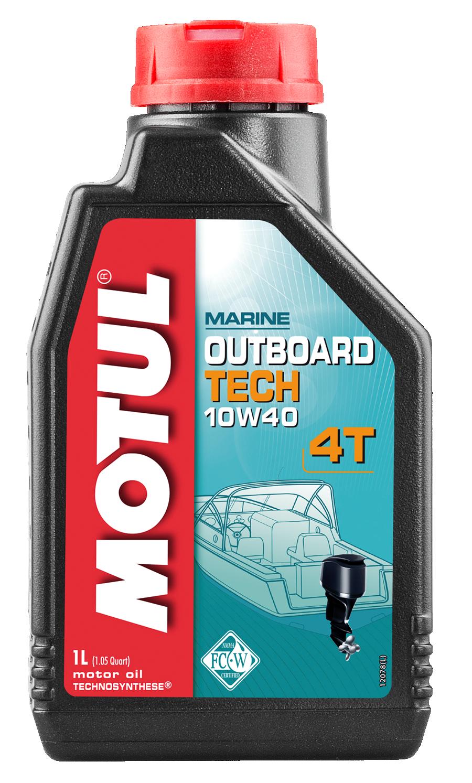 Moottoriöljy MOTUL OUTBOARD TECH 4T 10W40 1L