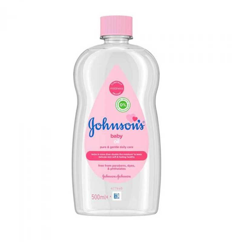 Johnson's Babyolja 500 ml