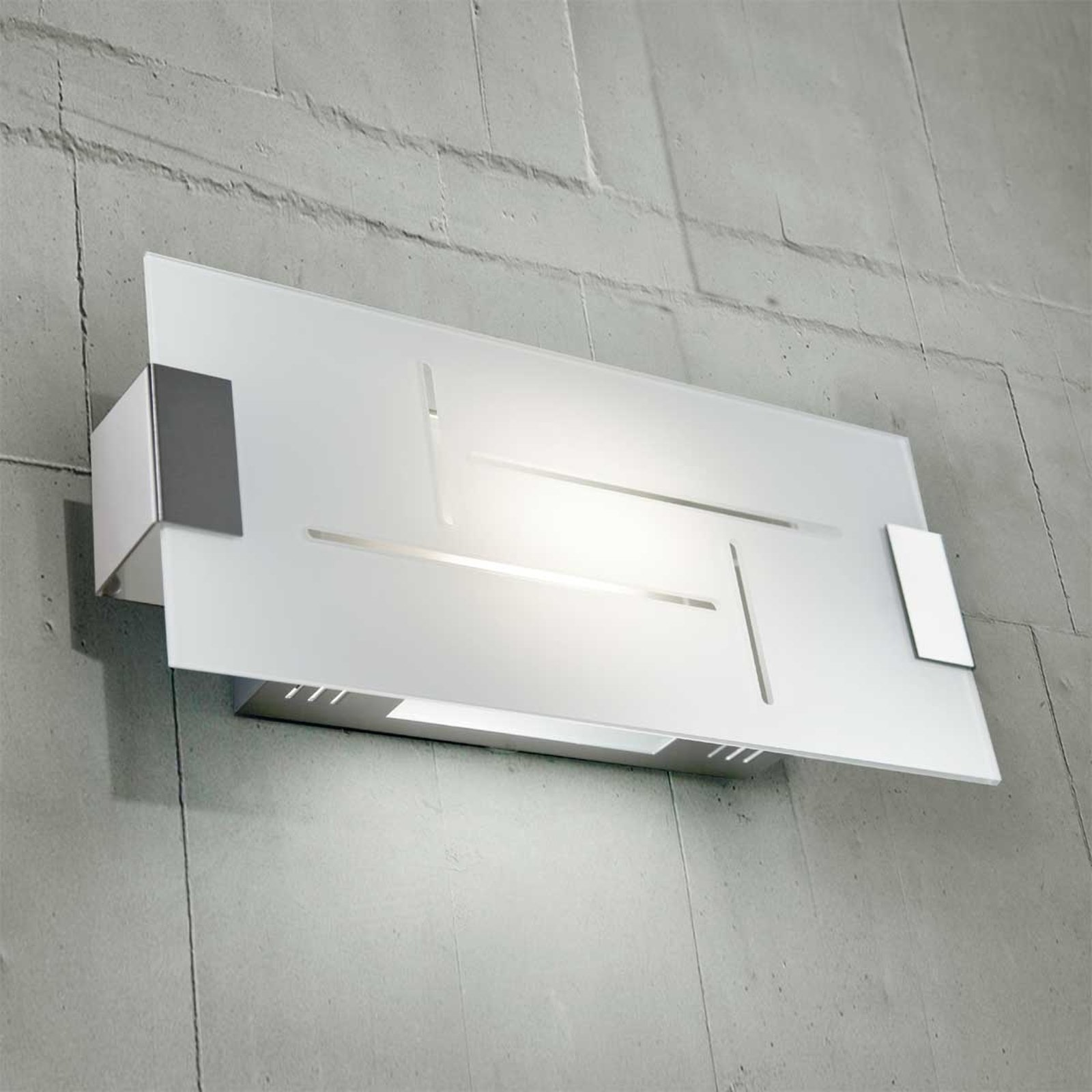 Flat taklampe SQUARE 8200