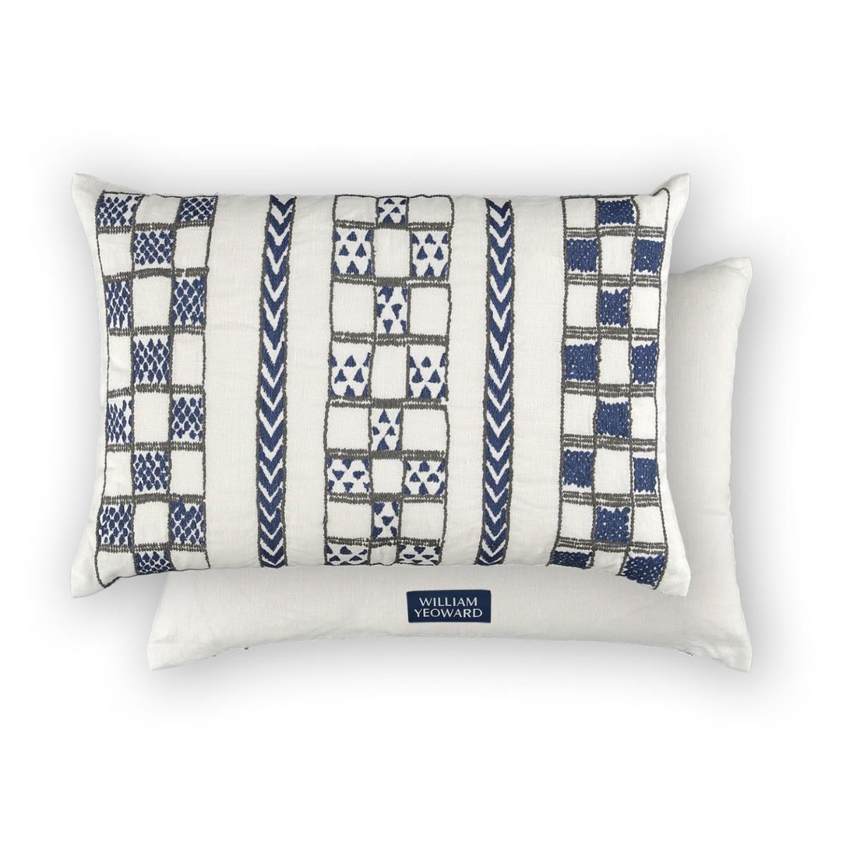 William Yeoward | Mancora Cushion Indigo