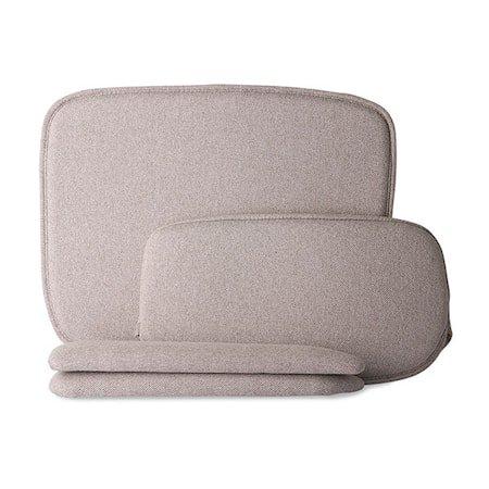 Wire Armchair comfort kit pebble