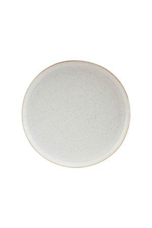 Pion Frokosttallerken Grå/Hvit