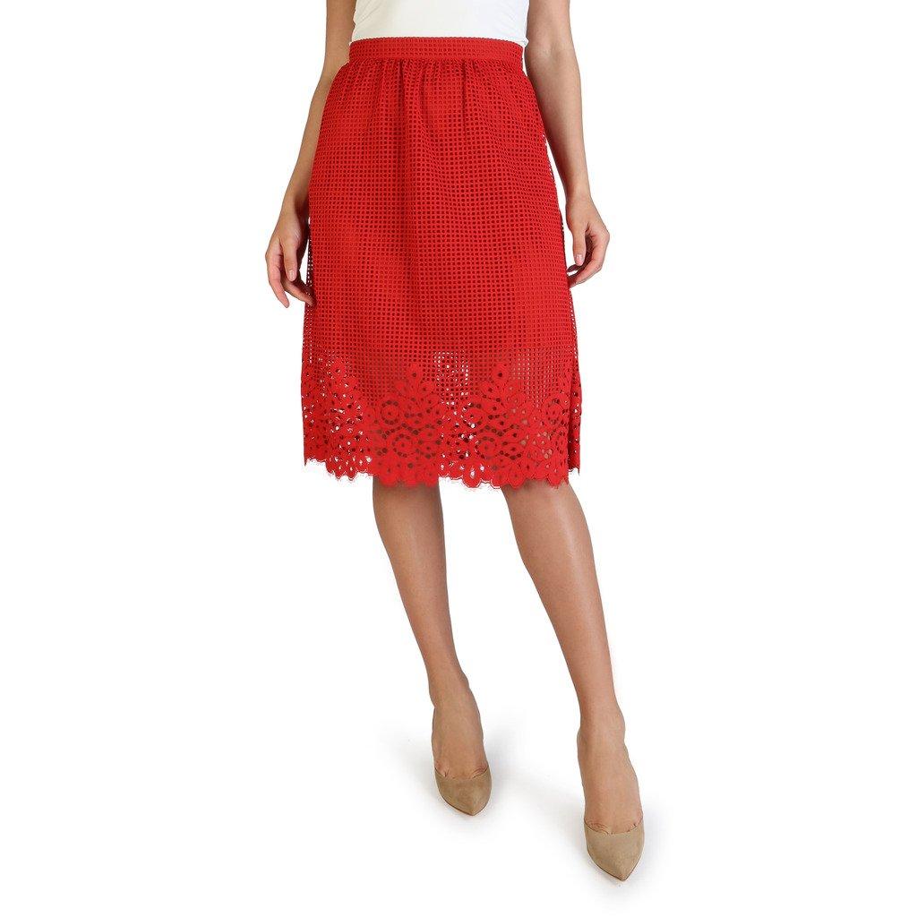 Tommy Hilfiger Women's Skirt White WW0WW22213 - red 2