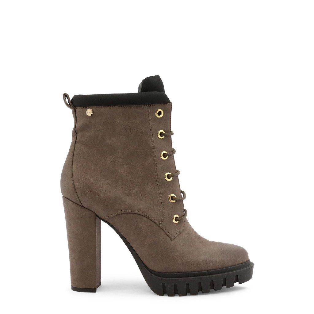 Roccobarocco Women's Ankle Boot Brown RBSC0CN04 - brown EU 37