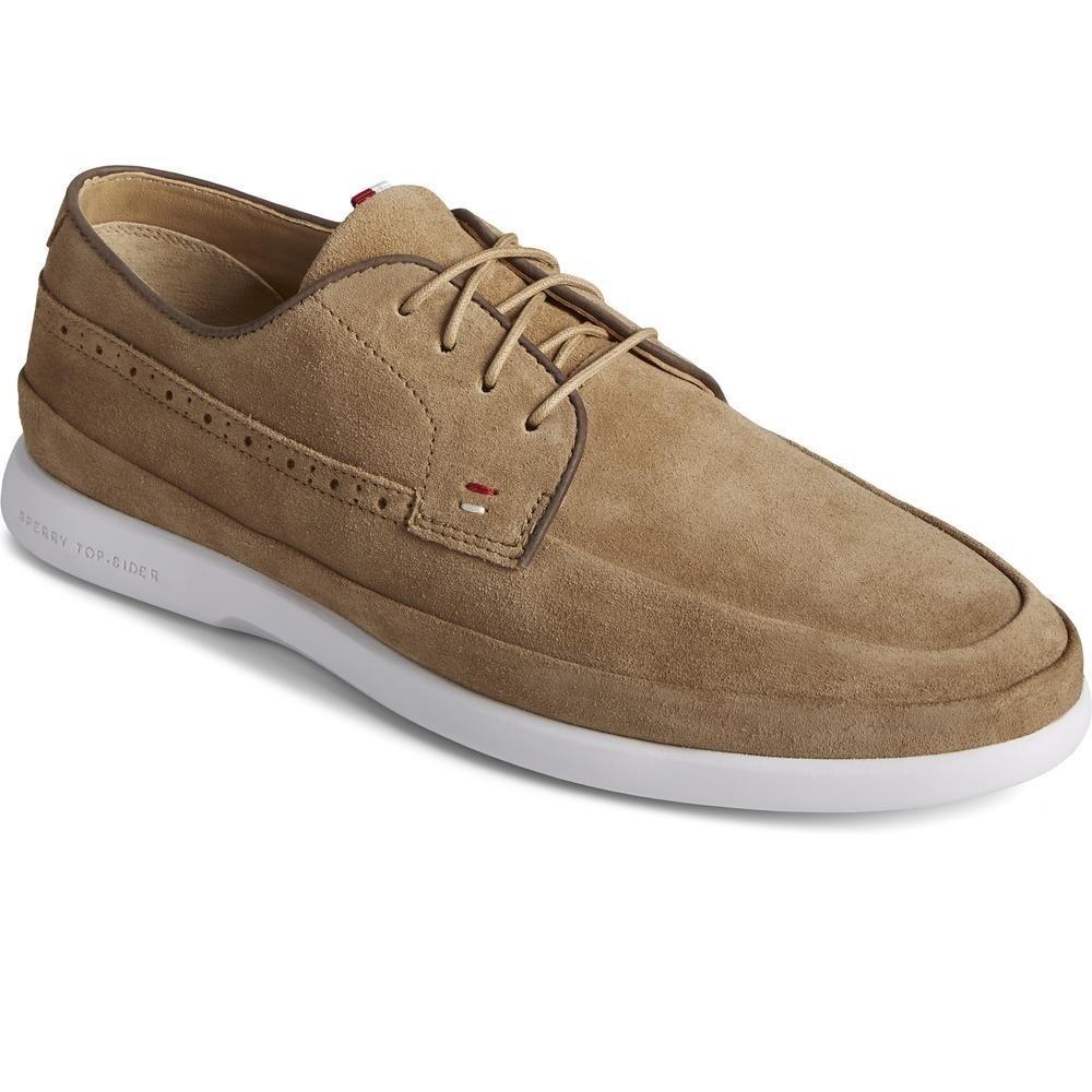 Sperry Men's Cabo Plushwave Boat Shoes Various Colours 32927 - Tan 9