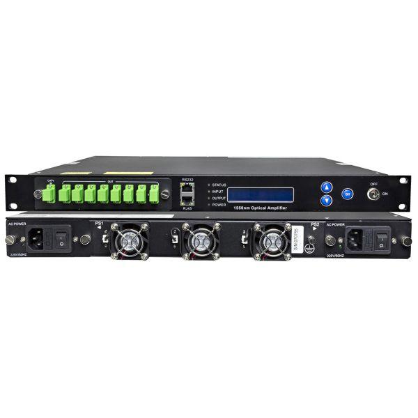 Televes 769705 Forsterker EFDA, med temperaturstabilisering 8 x 21 dBm