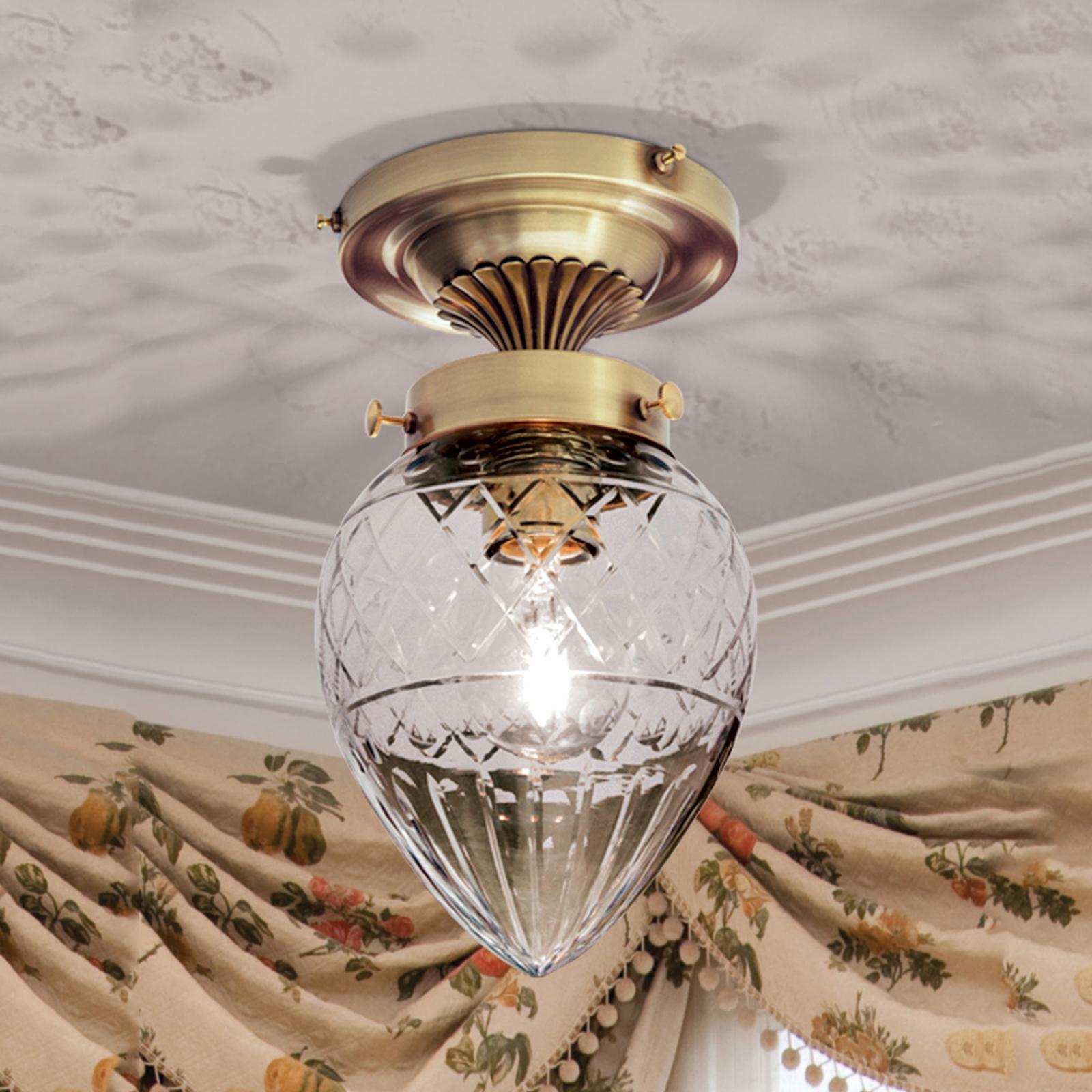 Loistokas kattovalaisin BARBORA - 1 -lamppuinen