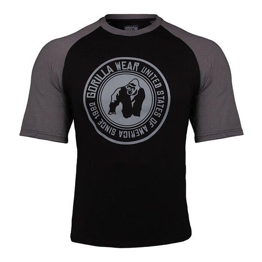 Texas T-shirt, Black/Dark Grey