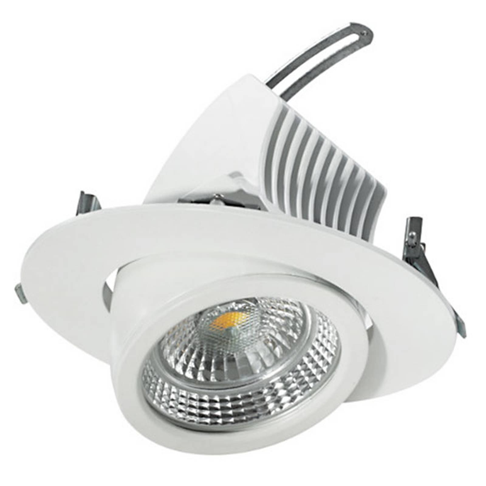 Svingbar LED-downlight 20 cm, 48 W