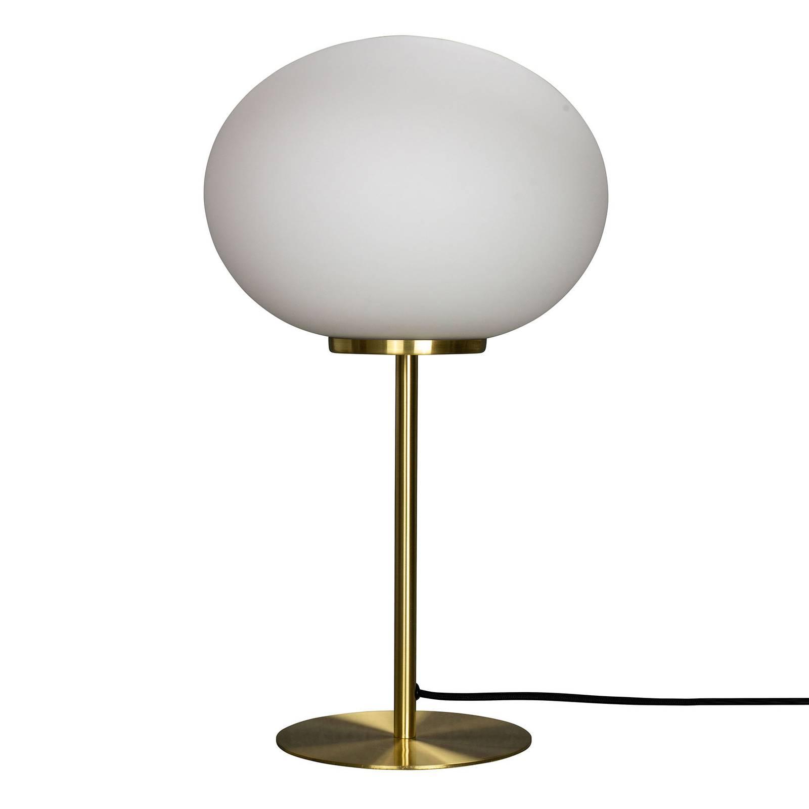 Dyberg Larsen Queen -pöytälamppu, messinkirunko