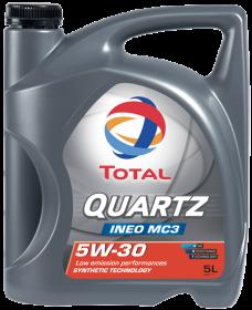 Moottoriöljy TOTAL 5W30 QUARTZ INEO MC 3 5L